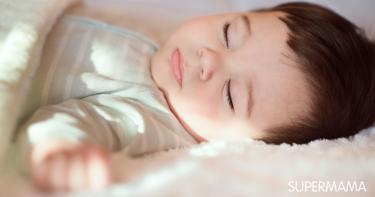 متى ينام الرضيع نوم متواصل