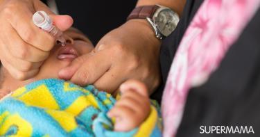 تحذير للأمهات قبل التطعيم ضد شلل الأطفال
