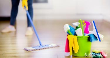 جدول تنظيف البيت يومي وأسبوعي وشهري