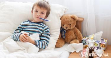 أعراض نقص المناعة عند الأطفال