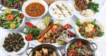 أشهر المأكولات التركية
