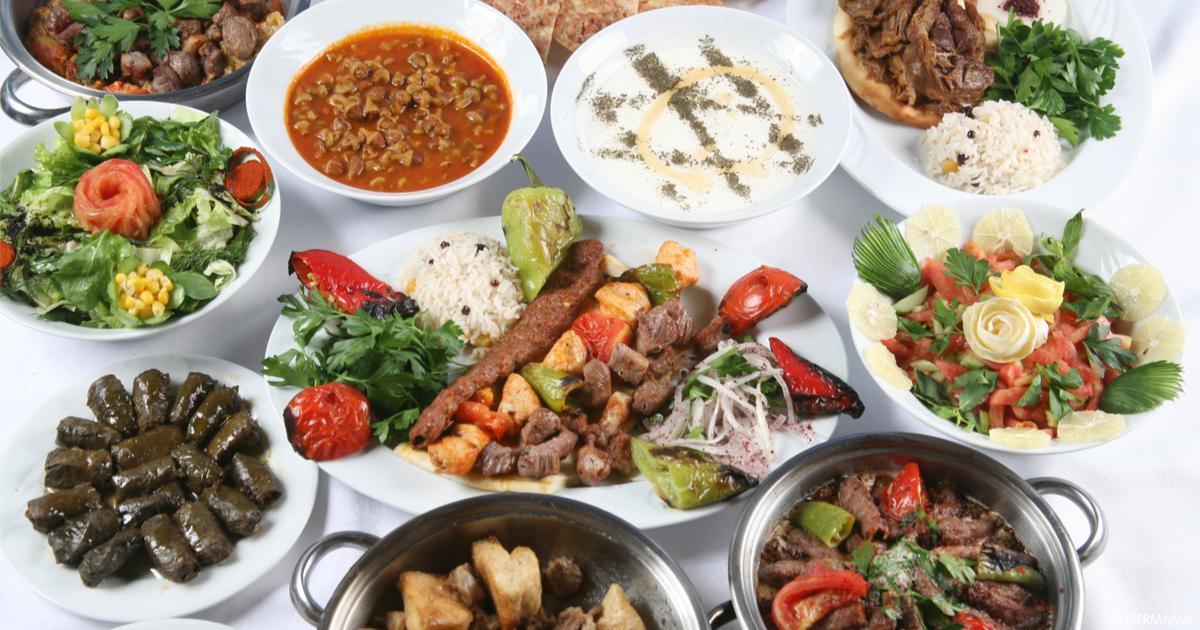 قائمة بأشهر المأكولات التركية سوبر ماما