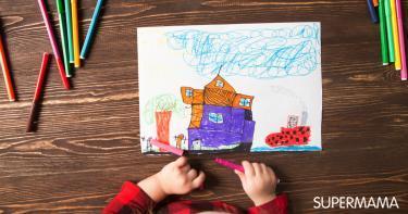 تحليل نفسية الأطفال من خلال رسوماتهم سوبر ماما