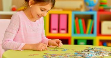 ألعاب تنمية المهارات العقلية للأطفال