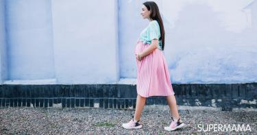الحمل في الشهر الثامن والمشي