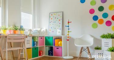 تزيين غرف الأطفال بالأعمال اليدوية