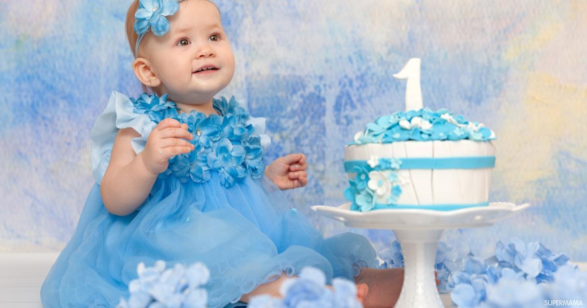 أفكار متنوعة للاحتفال بعيد ميلاد الطفل الأول سوبر ماما