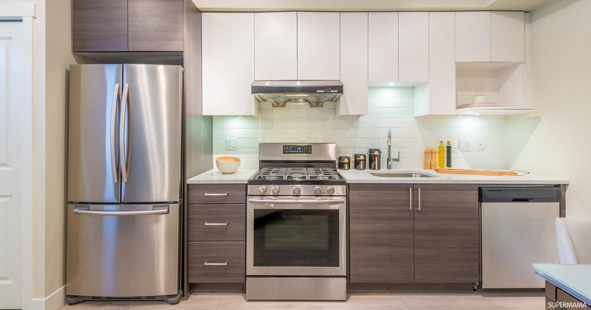 تلطيخ كل اسبوع علامة تجارية وضع الثلاجة في زاوية المطبخ Sjvbca Org