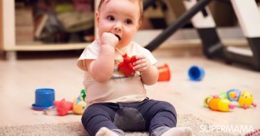 مهارات الطفل في الشهر الثامن