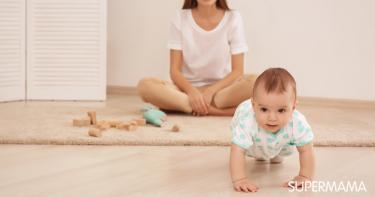 مهارات الطفل في الشهر السابع