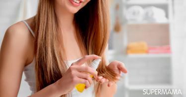 أنواع زيوت الشعر