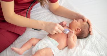 صعوبة التنفس عند الرضيع