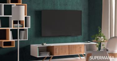 أفكار لتعليق التليفزيون في الجدار