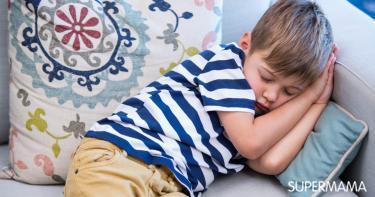 أسباب كثرة النوم والخمول المفاجئ عند الأطفال