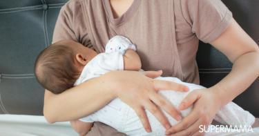 دخول الحليب إلى رئة الرضيع
