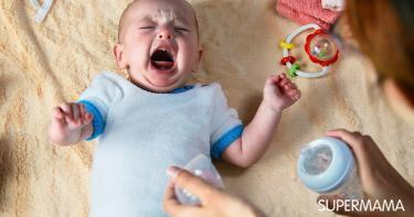أسباب رفض الطفل للرضاعة الصناعية فجأة