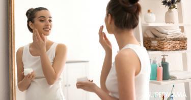 كريمات تقشير الوجه للحامل