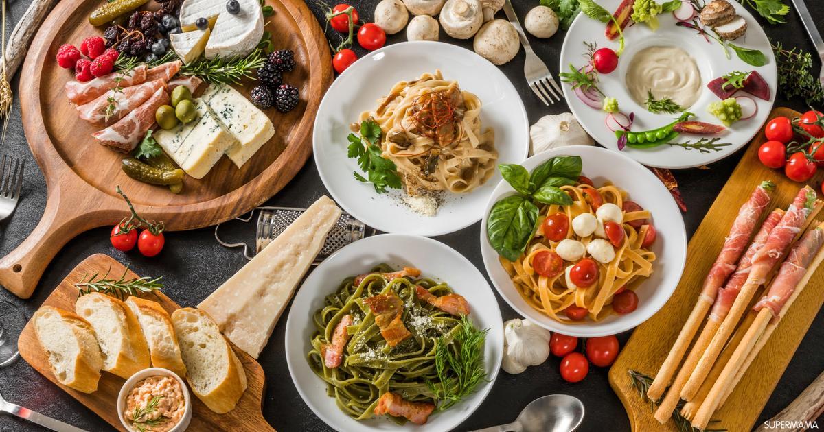 10 أكلات إيطالية مشهورة سوبر ماما