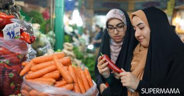 مشتريات المطبخ في رمضان