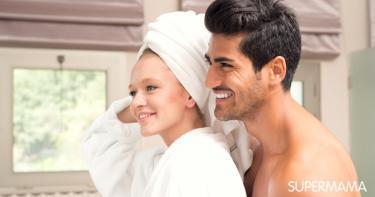 استحمام الزوجين معًا