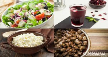 جدول أكلات رمضان للإفطار والسحور