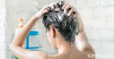 طريقة غسل الشعر بعد البروتين