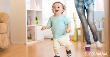 الطفل كثير الحركة في عمر السنتين