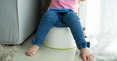 الإمساك عند الأطفال الرضع