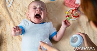 ألم الأذن عند الرضع