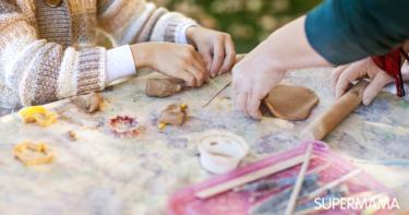 كيف أصنع طين صناعي لأطفالي في المنزل؟ | سوبر ماما
