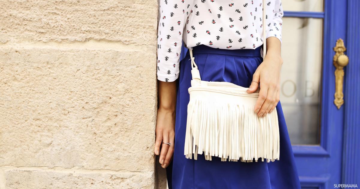 ما الألوان المتناسقة مع الأزرق الغامق في الملابس سوبر ماما