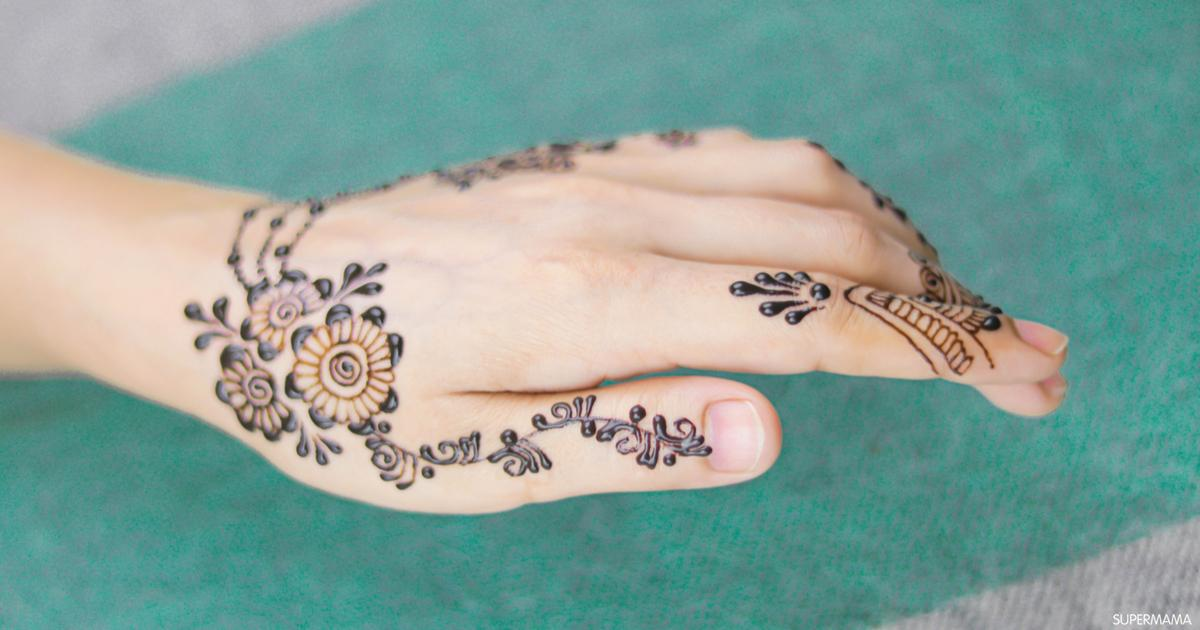 طريقة إزالة الحناء من اليد والأظافر سوبر ماما