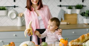 فوائد الموز للمرضعة