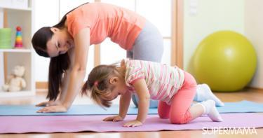 تمارين العضلات للأطفال