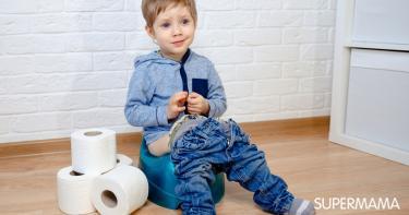 أعراض احتباس البول عند الأطفال