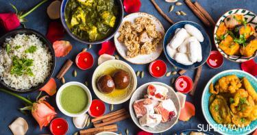 أكلات هندية نباتية