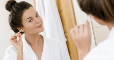 طريقة تنظيف الأذن