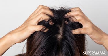 حساسية فروة الرأس