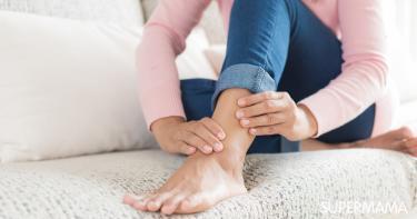 العلاقة بين ألم القدم اليسرى والقلب