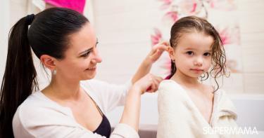 علاج تساقط الشعر للأطفال