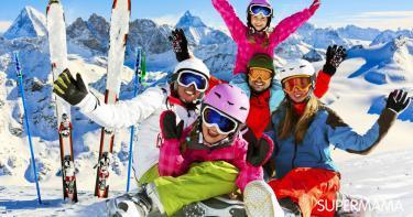 أفضل دولة سياحية للأطفال في الشتاء