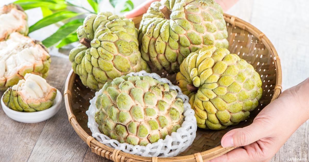 9 فوائد لفاكهة القشطة للحامل سوبر ماما