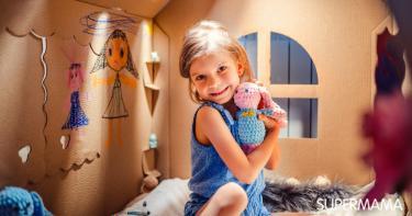 كيفية صنع منزل بالكرتون لأطفالك