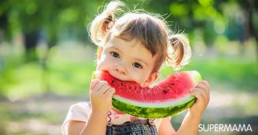 فوائد االبطيخ للأطفال