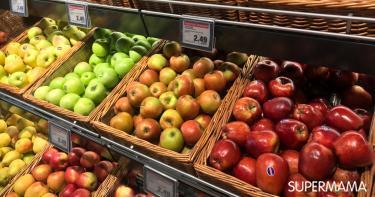أنواع التفاح وفوائده بالصور
