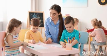 ماذا يدرس الطفل في الروضة