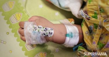 تأثير البنج على الطفل الرضيع