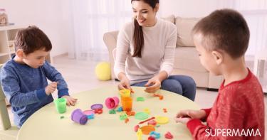 ألعاب يلعبها الأطفال في المنزل