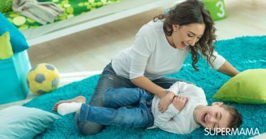 تأثير الأم المرحة في الطفل