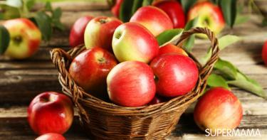 فوائد التفاح للمرضع